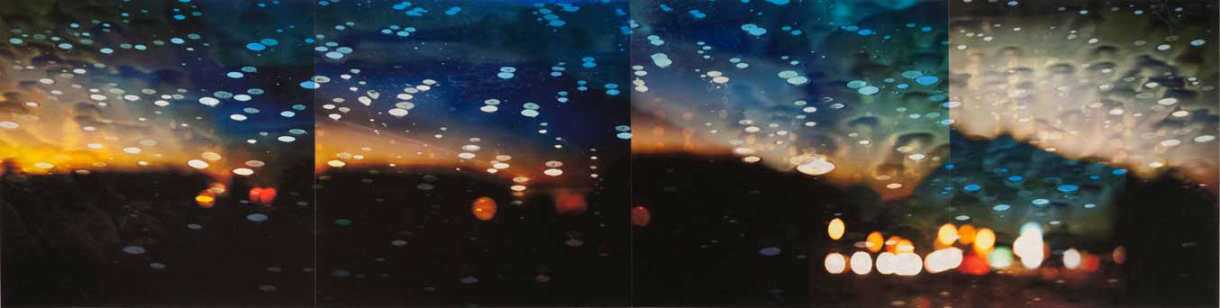 Many Hundreds of Miles but It Won't Be Long, pigment prints and collage, 11x44