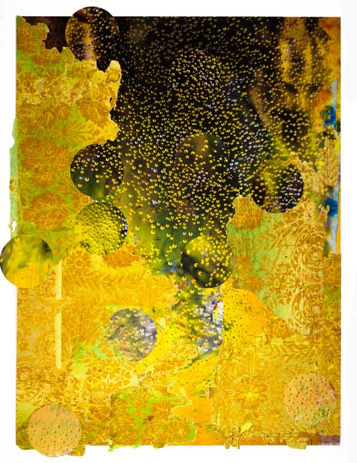 On the Edge of Always, pigment prints and collage, 25x19